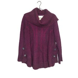 Angel Of The North Wool Blend Cowl Neck Sweater